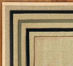 4x6 sisal rug color bound natural sisal rug swatch pottery barn