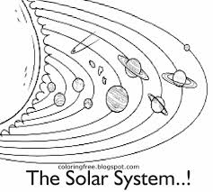 Free Solar System Coloring Pages With Free Solar System Coloring