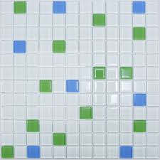 white green blue mix glass mosaic tile for bathroom green glass mosaic tiles uk