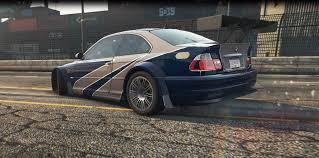 BMW Convertible 2005 bmw m3 gtr : Need For Speed Most Wanted 2012 BMW M3 GTR (2005 Style) Texture ...