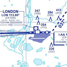 12 Heathrow Instrument Approach Chart Detail Download