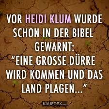 Vor Heidi Klum Wurde Schon In Der Bibel Gewarnt Kaufdex