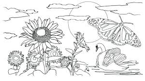 free printable nature coloring pages for s coloring book nature coloring pages free printable for kids