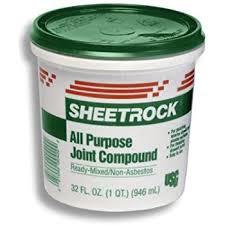 exterior joint compound. u s gypsum 380270072 gypsum #380270 quart ready-to-use joint compound exterior l