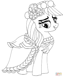 Small Picture My Little Pony Applejack coloring page Free Printable Coloring Pages