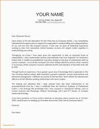 Cover Letters Format For Resume Sample Letter Format Address