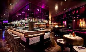 Luxury and Modern Restaurant Interior Design with American Fine Dining  Experience of Johnny Small, Las Vegas Bar Area
