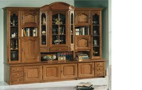 China Cabinet With Hutch Amazoncom Solid Oak China Hutch Cabinet Curved Glass Display