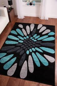 black and teal area rug deboto home design rugs within idea 0