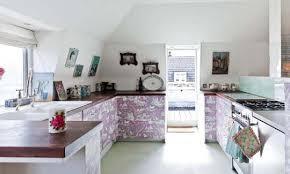 5 Ideas Para Decorar Los Muebles De Cocina Con Papel Pintado Decorar Muebles De Cocina