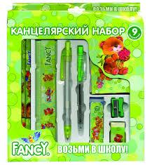 <b>Action Набор канцелярский</b> Fancy, 9 предметов - Акушерство.Ru