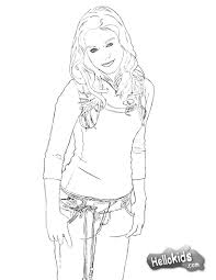 Small Picture Vanessa coloring pages Hellokidscom