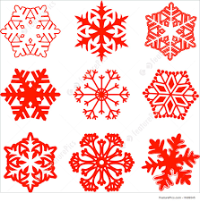 Different Designs Of Snowflakes Snowflake Designs Stock Illustration I1689545 At Featurepics