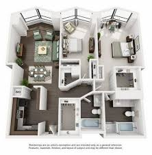 Amazing North Harbor Tower Floor Plans | Studio, One Bedroom, Two Bedroom, And Three