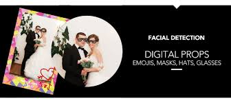 use our exclusive detection to apply digital props on screen to your photos choose from a large range of emojis masks hats glasses