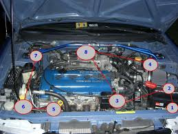 how many grounds in the engine bay now the best thing to do would be to also connect ground point 7 and ground point 8 i ve just been lazy to do that haha