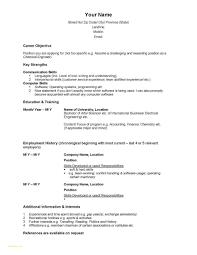 Chronological Resume Format Elegant Reverse Chronological Resume