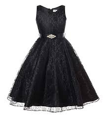 Amazon.com: OLIVIA KOO <b>Lovely Lace</b> V-Neck <b>Flower Girl</b> Dress ...