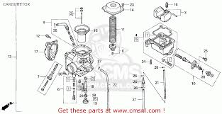float chamber set for trx300 fourtrax 300 1991 m usa order at cmsnl the trx300 fourtrax 300 1991 m usa float chamber set is shown as item 4 on the schematic