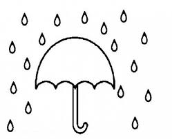 Small Picture Umbrella In Rain Coloring Pages Coloring Pages
