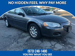 2004 chrysler sebring 2004 4dr sdn lxi available in lodi new jersey