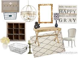 rustic glam closet office inspiration