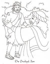 Prodigal Son Coloring Pages 59 Best Prodigal Son Parable Images On