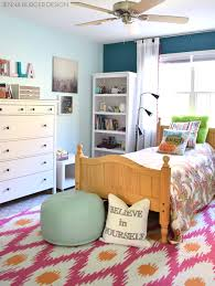 Makeover Bedroom Fuschia Turquoise Bedroom Makeover Jenna Burger