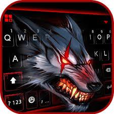 Spiky bloody king wolf ist ein fantastisches thema mit einem live wallpaper, das einen riesigen und wilden wolf mit brennenden augen darstellt. Bloody Metal Scary Wolf Keyboard Wolf Theme Apps On Google Play