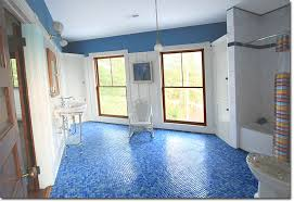 blue bathroom floor tiles. Blue Tile Bathroom Inspirations Floor Posted In Tiles Tagged .