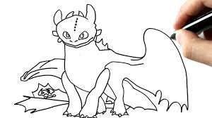 Comment Dessiner Krokmou De Dragons Destin S Dessin De Dragon Nice Dessin De Dragon Facile A Faire Un Dessin De Dragon L