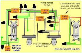 wiring diagram for two way switch one light bestharleylinks info Wiring Multiple Plugs Diagram wiring diagram 3 way with 2 lights home remodeling