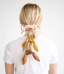 Designer Scrunchies Everyone Is Currently Coveting These Donni Scrunchies Their