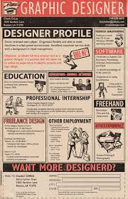 Resume For Graphic Artist Graphic Design Resume Sample Writing