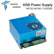 DRAGON DIAMOND <b>60W CO2 Laser Power</b> Supply for CO2 Laser ...