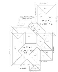 roof plans & suv sized two car garage with attic truss roof plan House Plans Sloping Roof roof plans & suv sized two car garage with attic truss roof plan 676 6 26\' x\
