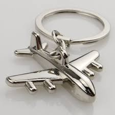 Creative <b>Mini</b> Air Plane <b>Metal Alloy</b> Keychains Keyring <b>Christmas</b> ...