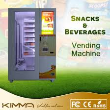 Mechanical Snack Vending Machine Impressive China Fruit And Hamburger Vending Machine With Mechanical Arm