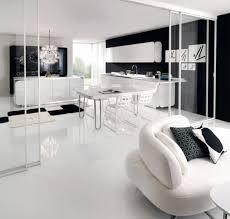 Black And White Kitchen Tiles Kitchen Breathtaking Black And White Kitchen For Black And White
