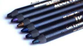 kryolan ikonic gel eye pencils review swatches india