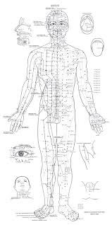 Acupuncture Points Chart Front Acupuncture Points Chart