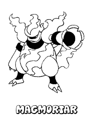 Fire Type Pokemon Coloring Pages At Getdrawingscom Free For