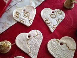 Incanto rosa **: decorazioni natalizie con la pasta di sale