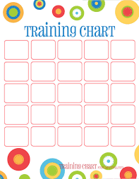 How To Make A Potty Training Chart Dots Reward Charts Potty Training More Free Printable
