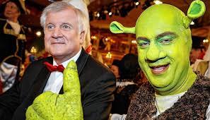 Bundeskanzlerin angela merkel (cdu) und bayerns ministerpräsident horst seehofer (csu) haben schlagfertig auf eine panne zum auftakt der medientage münchen reagiert und damit für lacher gesorgt. Der Seehofer Schreck