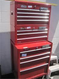 craftsman 3 piece tool box. lot # : 20 - 3 tier craftsman rolling tool box, with various craftsman piece tool box r