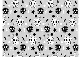 Skull Pattern Simple Punk Skull Pattern Download Free Vector Art Stock Graphics Images
