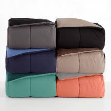reversible comforter sets martex solid colors