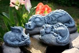 large dragon statues dragon garden