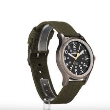 expedition outdoor watch men 039 s nylon strap black dial 24 hr expedition outdoor watch men 039 s nylon strap